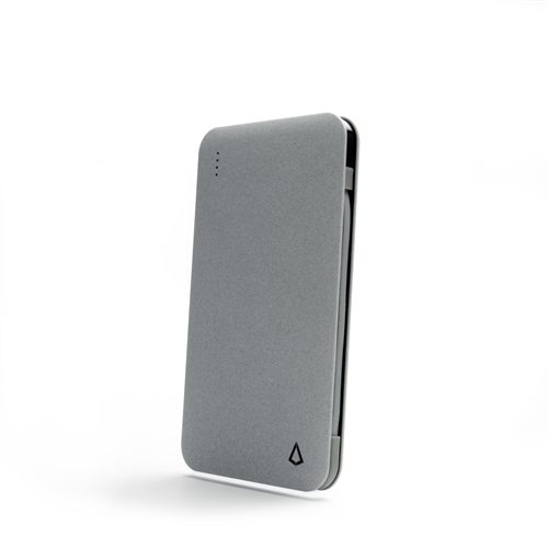 POWER CHARGE PLUS 5000Mah LTG/MICRO POWER BANK GREY