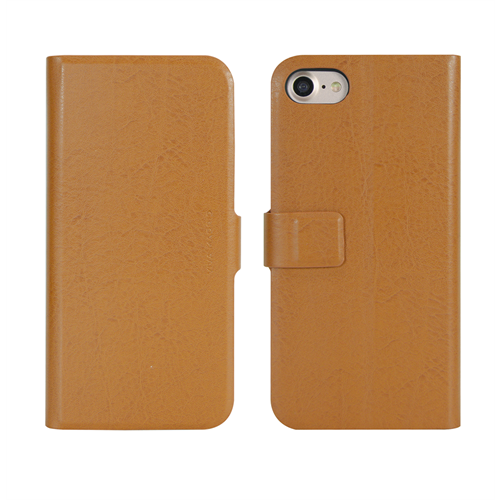 VIVA MADRID - Finura Cierre for iPhone 7/8 ~ Folio Case, Cierre Browm