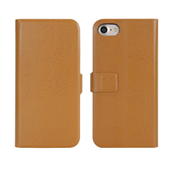 VIVA MADRID - Finura Cierre for iPhone 7 ~ Folio Case, Cierre Browm