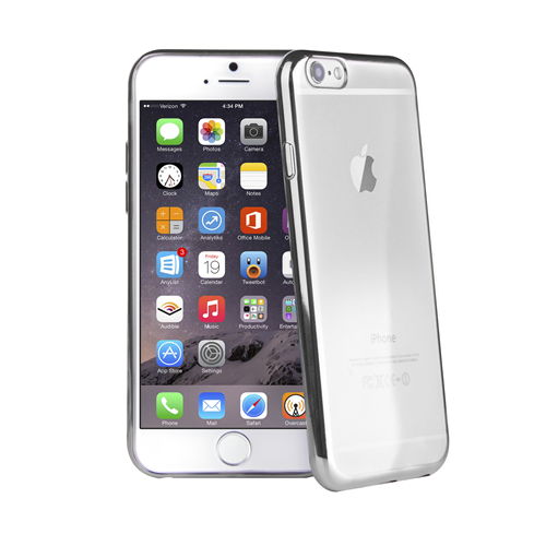 VIVA MADRID METALICO FLEX  ARDENT SILVER  EDGE FOR IPHONE 6/6S