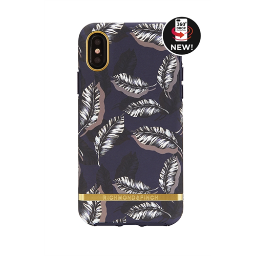 RICHMOND & FINCH FOR IPHONE X BOTANICAL LEAVES - GOLD DETAILS