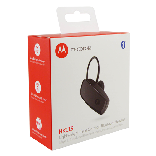 MOTOROLA HK115 TRUE'COMFORT BLUETOOTH HEADSET