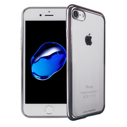 VIVA MADRID - Metalico Flex for iPhone 7 ~ Back Case, Ash Gunmetal
