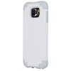 Additional Images for SAMSUNG S6 WHITE ON GRAY  DUAL CASE INCLUDES TEMPERED GLASS
