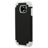 Additional Images for SAMSUNG S6 GREY ON BLACK DUAL CASE INCLUDES TEMPERED GLASS