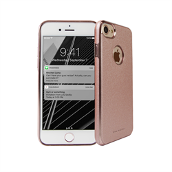 VIVA MADRID - Mirada Destello Blush for iPhone 7 ~ Back Case, Pink