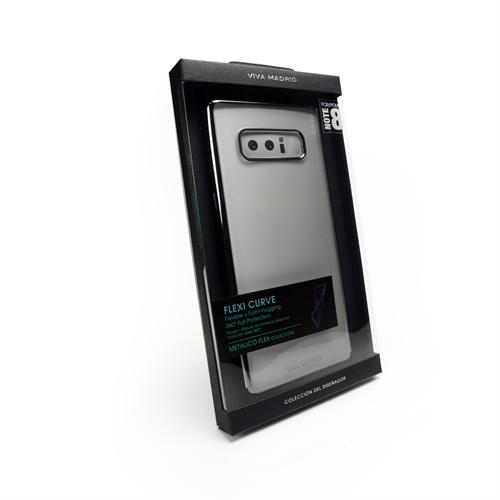 Viva Metalico Flex for Samsung Galaxy Note 8 - Ash Gunmetal