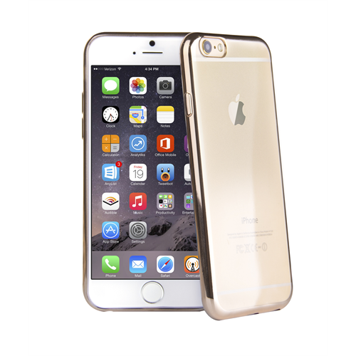 VIVA MADRID METALICO FLEX  CHAMPAGNE GOLD EDGE FOR IPHONE 6/6S PLUS