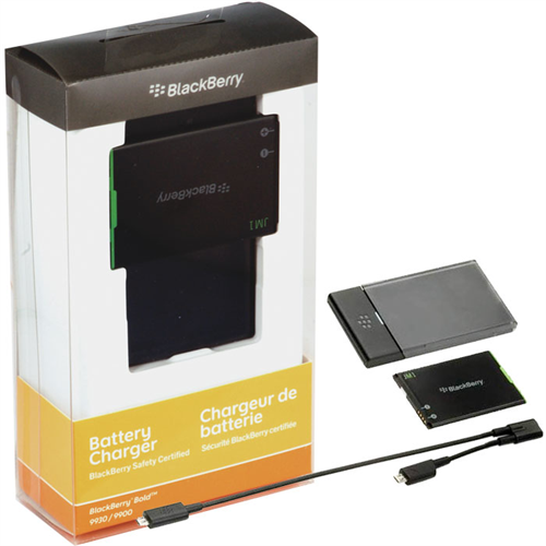 ORIGINAL BLACKBERRY JM-1 W/ BATTERY CHARGING STATION