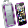 IPHONE 5/5S PURPLE TRIM BUMPER