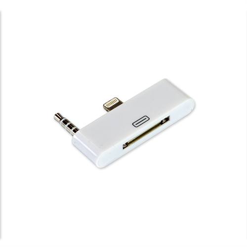 IPHONE 5/5S/SE LIGHTNING USB 8PIN TO 30PIN AUDIO ADAPTER