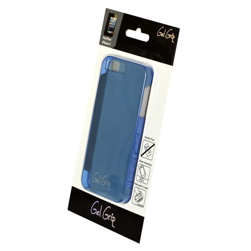 CLASSIC SERIES PRE-PKGD. IPHONE 5/5S/SE CLEAR BLUE SHELL