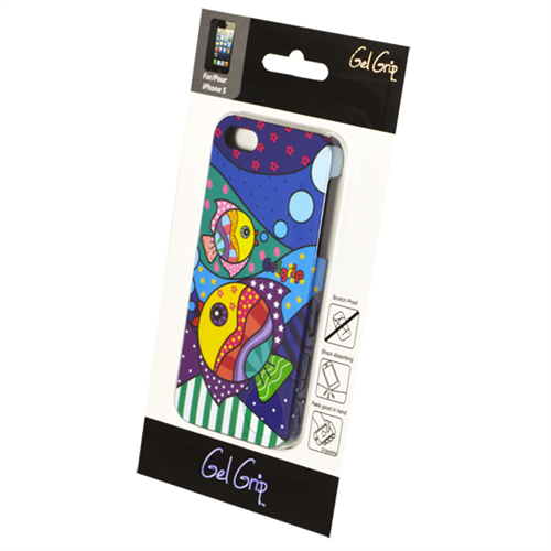 IPHONE 5/5S FISH DESIGN SHELL-GEL