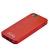 LBT BLACK PKGD. IPHONE 5/5S/SE RED GEL SKIN