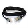 Additional Images for LBT APPLE APPROVED LIGHTNING 5FT USB KNITTED CABLE W/SMART LED/ALUMINUM BODY