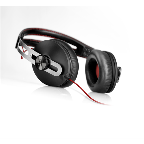SENNHEISER MOMENTUM ON THE EAR BLACK HEADPHONES