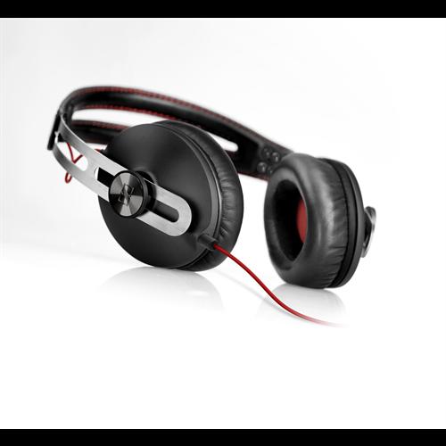 SENNHEISER MOMENTUM ON THE EAR BLACK HEADPHONES