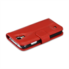 Additional Images for RETAIL PKGD. GALAXY S4 RED FLIP LAMBSKIN COVER