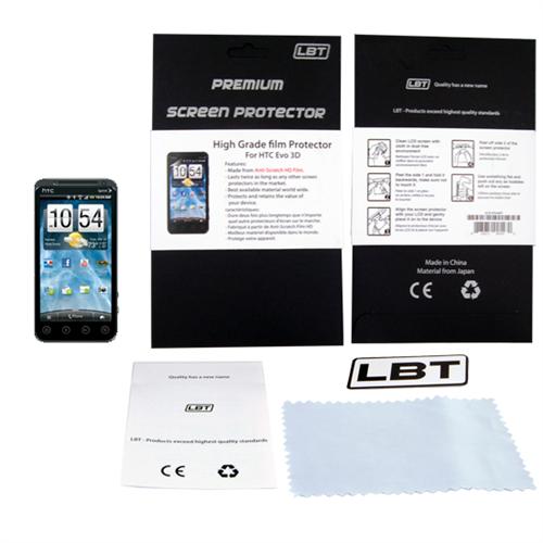 HTC EVO 3D HD SCREEN PROTECTOR