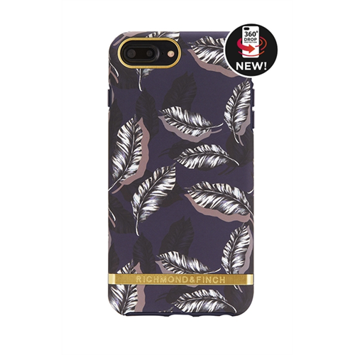 RICHMOND & FINCH FOR IPHONE 6/6s/7/8 BOTANICAL LEAVES - GOLD DETAILS