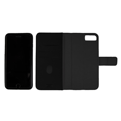 LBT IPHONE 8/7/6/6s  SWITCH WALLET CASE CARBON  BLACK WITH MAGNET VENT HOLDER