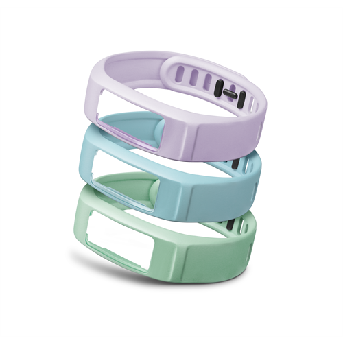 GARMIN - VIVOFIT 2 BANDS MINT/LILAC/CLOUD SMALL