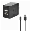 Additional Images for LBT 3.4 AMP DUAL PORT WALL CHARGER W/ 5 FEET USB-C CABLE