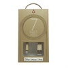 Additional Images for LBT 7 FEET MFI BRAIDED GOLD LIGHTNING CABLE W/ METAL CONNECTOR
