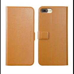 VIVA MADRID - Finura Cierre for iPhone 7/8 Plus ~ Folio Case, Cierre Brown