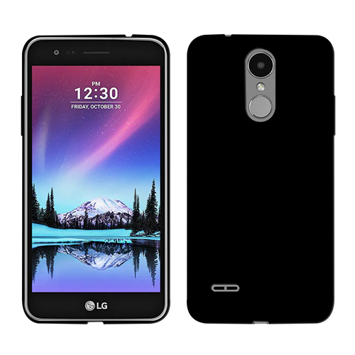 LG K4 2017 BLACK GEL SKIN PACKAGED