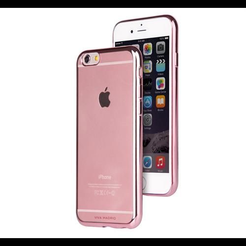 VIVA MADRID METALICO FLEX  RUBINE ROSE GOLD EDGE FOR IPHONE 6/6S PLUS