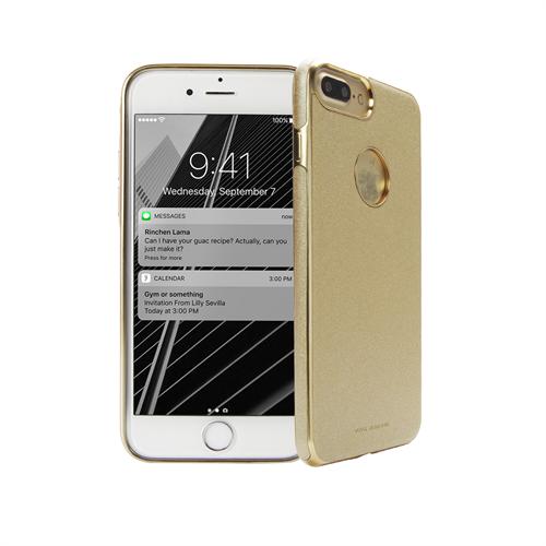 VIVA MADRID - Mirada Destello Champagne for iPhone 7 Plus ~ Back Case, Gold