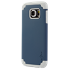 Additional Images for SAMSUNG S6 BLUE ON GREY DUAL CASE INCLUDES TEMPERED GLASS