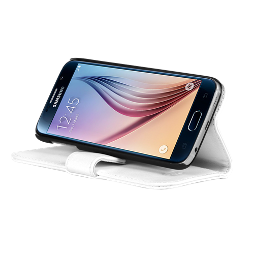SAMSUNG S6 LBT WALLET CASE, WHITE