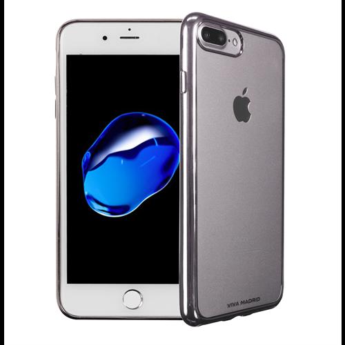 VIVA MADRID - Metalico Flex for iPhone 7/8 Plus ~ Back Case, Ash Gunmetal