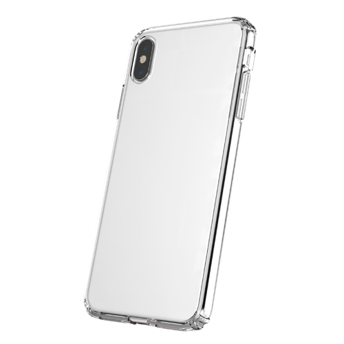 TUFF 8 CLEAR BACK CASE FOR IPHONE 6.5/Xs Max