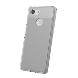 TUFF 8 CLEAR BACK CASE FOR GOOGLE PIXEL 3