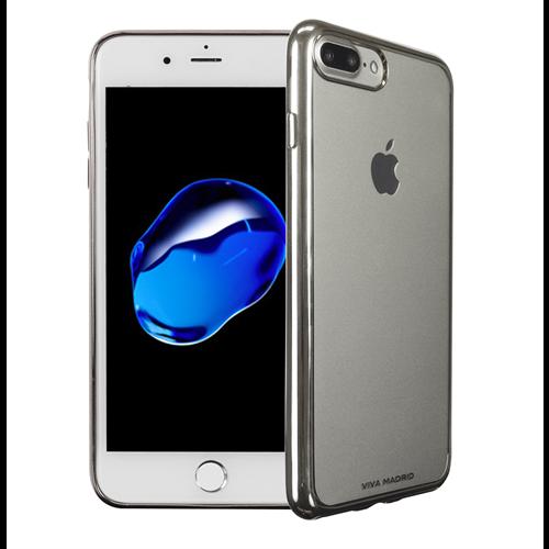 VIVA MADRID - Metalico Flex for iPhone 7/8 Plus ~ Back Case, Silver