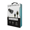 Additional Images for LBT APPLE APPROVED DUALPORT 4.8amp CAR CHARGER W/ LED LIGHTNING CABLE