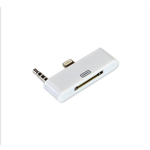 IPHONE 5/5S/SE LIGHTNING USB 8PIN TO 30PIN AUDIO ADAPTER