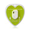 Additional Images for LIGHTNING ADAPTOR WITH USB DATA CABLE KEYCHAIN STYLE WHITE