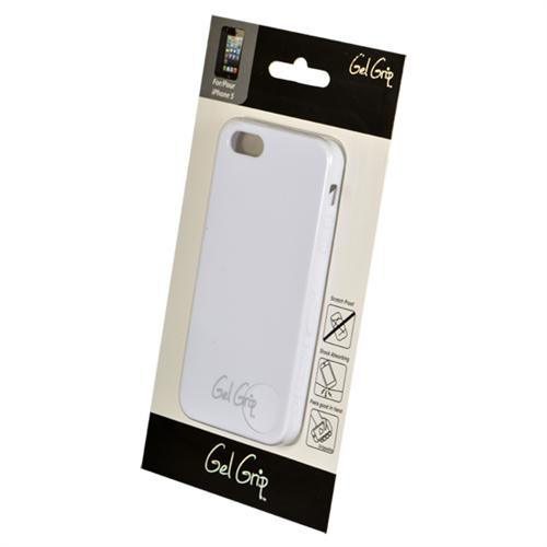 CLASSIC SERIES PRE-PKGD. IPHONE 5/5S/SE WHITE GEL SKIN