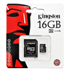 Additional Images for KINGSTON 16 Gb HIGH CAPACITY MEMORY CARD CLASS 10