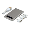 SILVER TOUCH SCREEN UNIV. MOBILE POWER BANK  5000 MAH