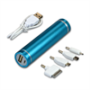 BLUE POWER BANK TUBE 2600 MAH