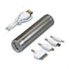 SILVER POWER BANK TUBE 2600 MAH