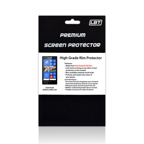 LUMIA 520 HD SCREEN PROTECTOR