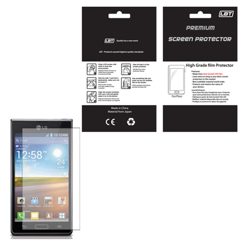 LG OPTIMUS L5 HD  SCREEN PROTECTOR