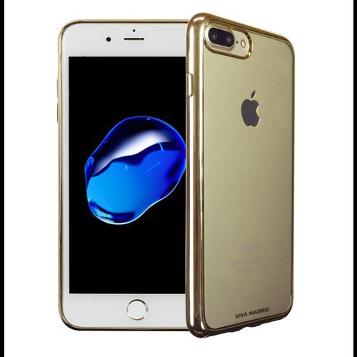 VIVA MADRID - Metalico Flex for iPhone 7/8 Plus ~ Back Case, Champagne Gold