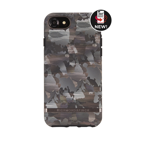 RICHMOND & FINCH FOR IPHONE 6/6S/7/8 CAMOUFLAGE - BLACK DETAILS
